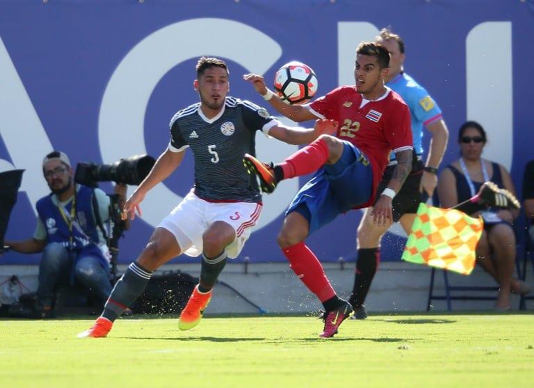 Costa Rica Paraguay Copa America