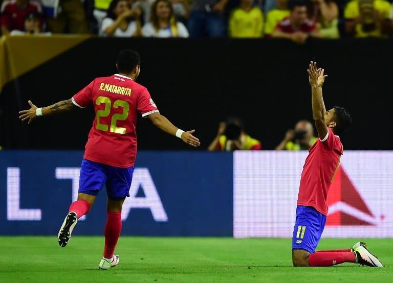 Venegas, Matarrita from Costa Rica Copa America