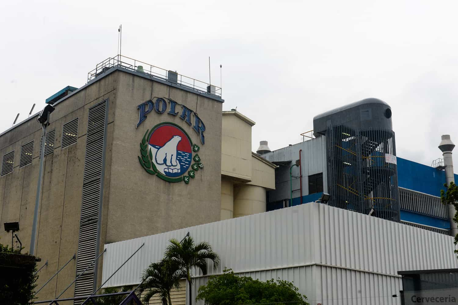 Polar brewery in Venezuela
