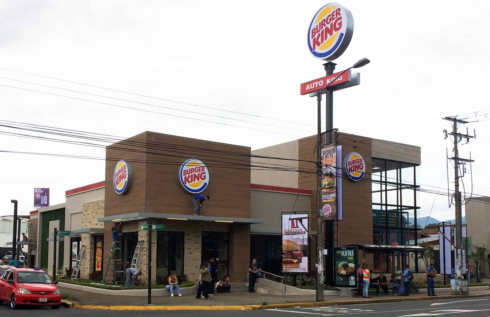 Burger King Costa Rica reopening. June 15, 2016.