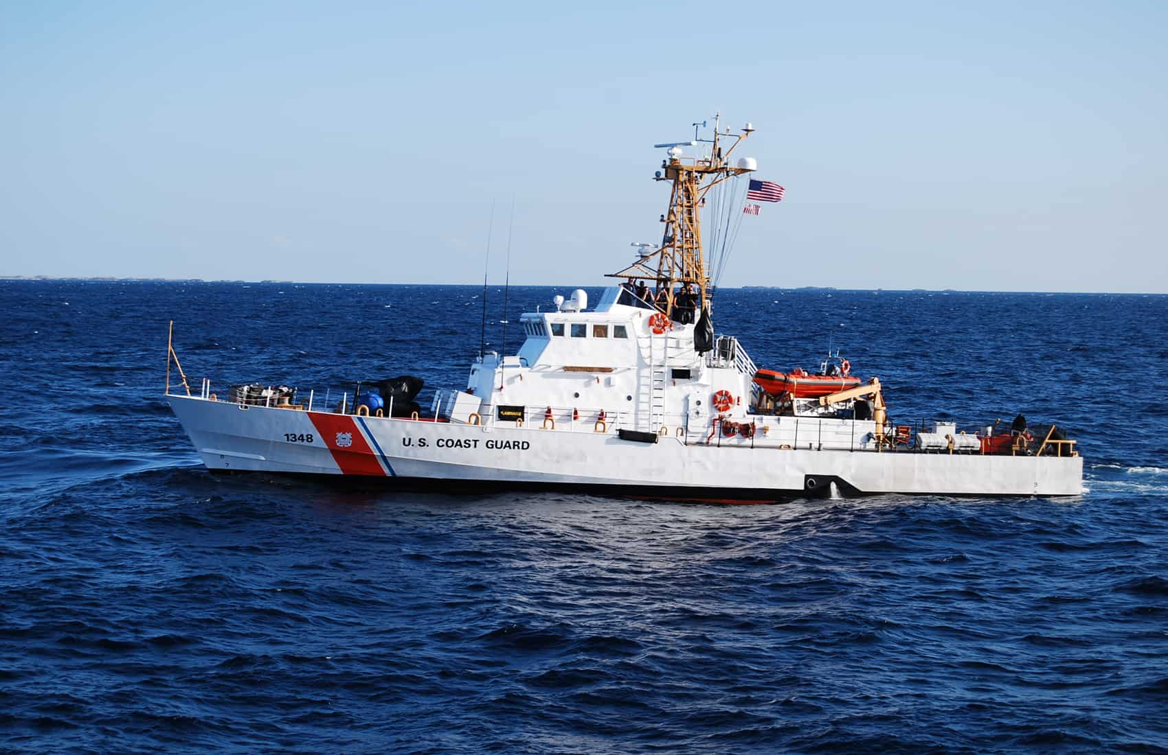 US Coast Guard Island-Class Cutter
