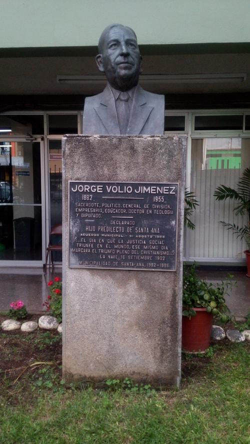 Jorge Volio Jiménez, priest and freedom fighter.