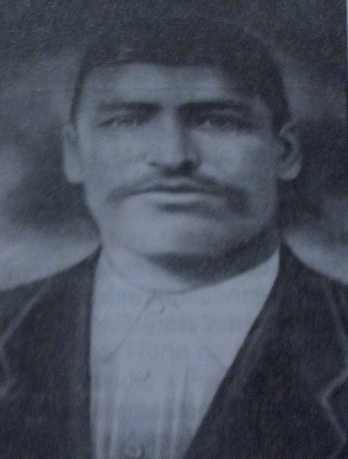 Pedro Aguilar, first president of the Municipality of Santa Ana.