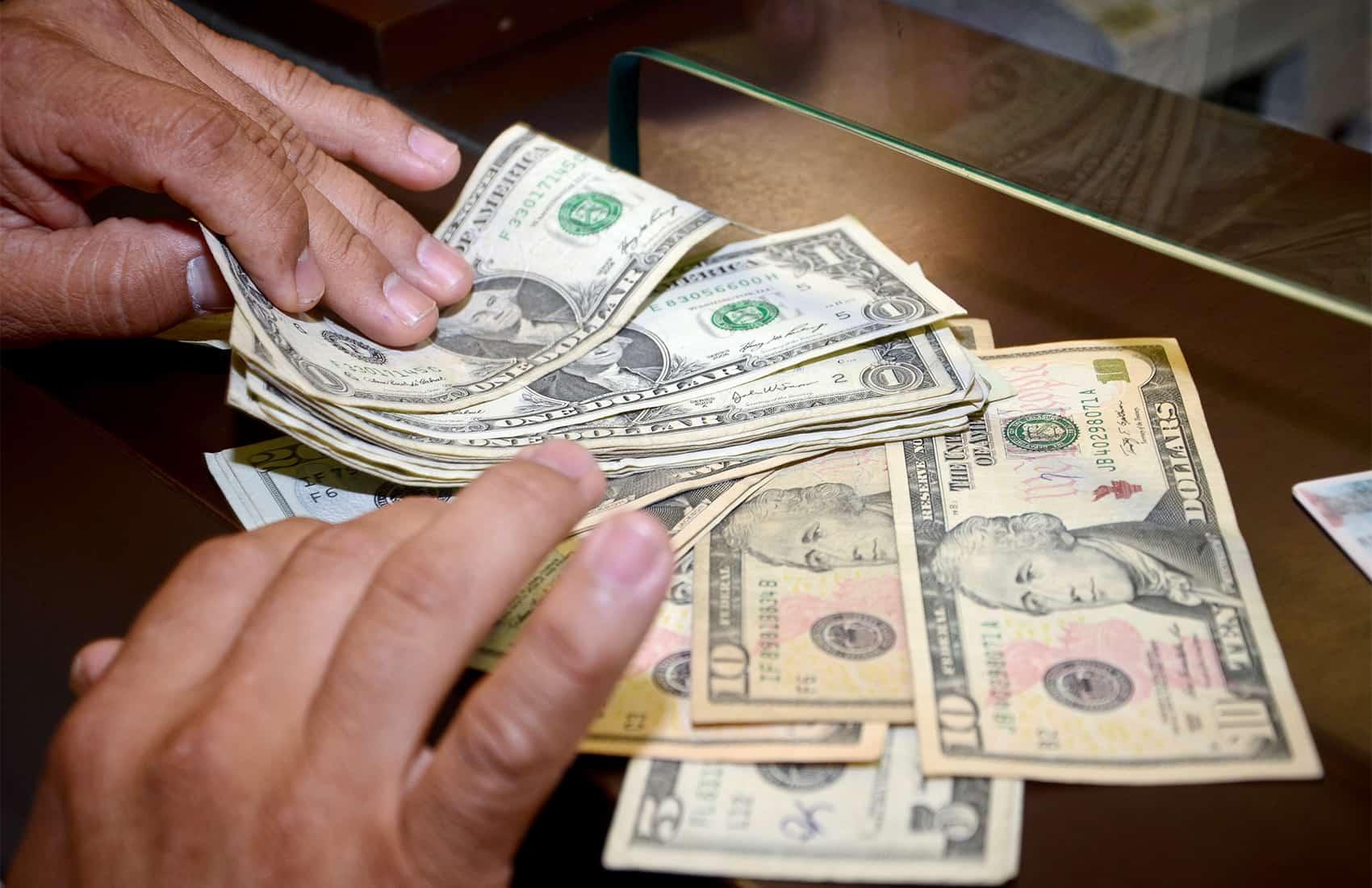 Dollar exchange