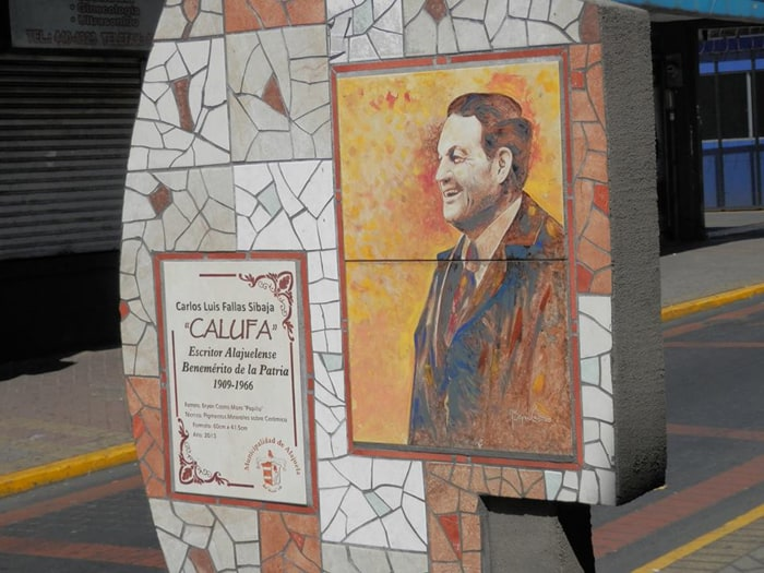 The author commonly known as Calufa made his home in Alajuela.