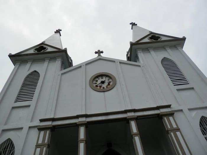 The Corazón de Jesús church was built in 1926 for the Lebanese community.