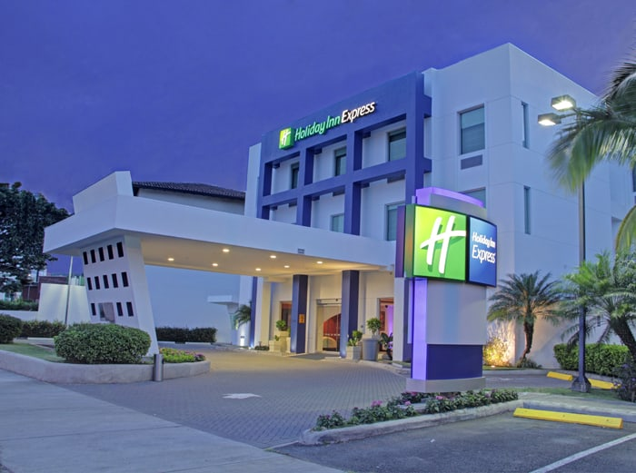 Holiday Inn Express.