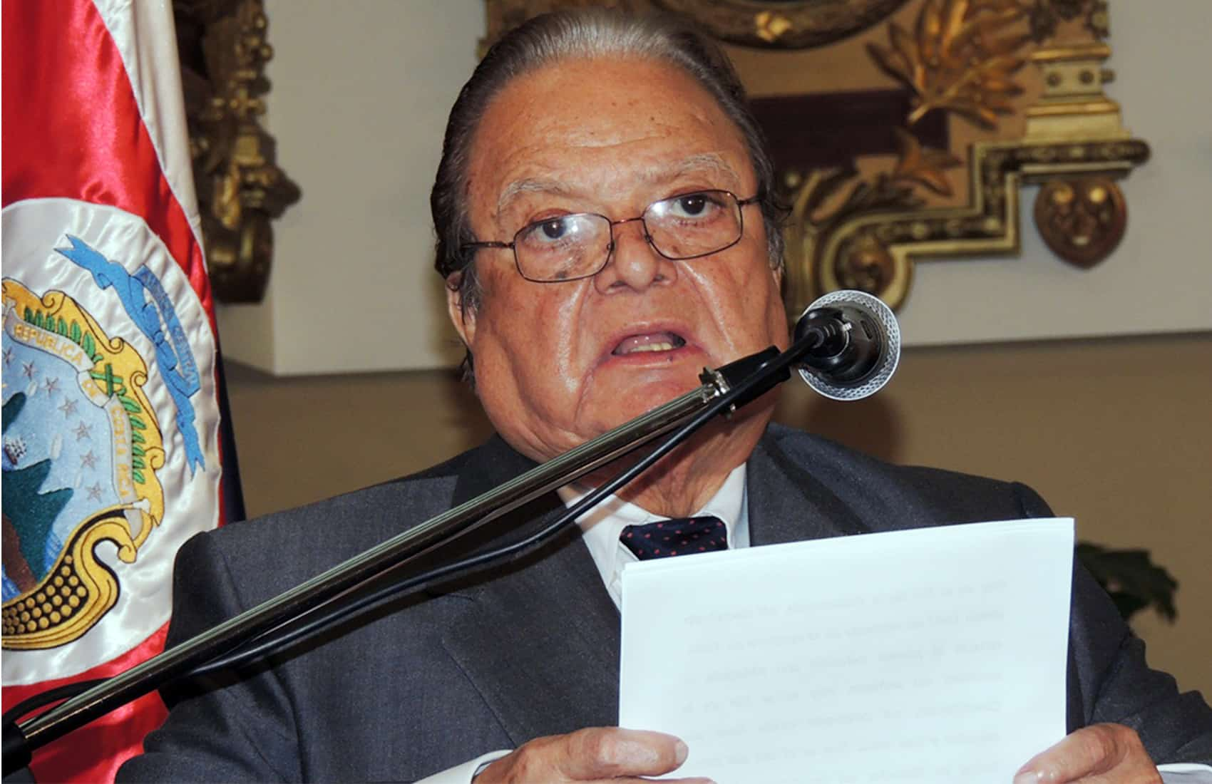 Ex-President Luis Alberto Monge Álvarez
