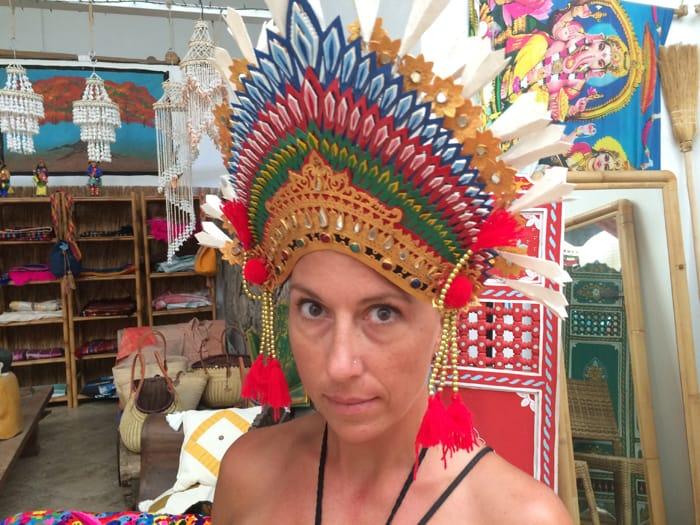 Cristina found this shopping near Santa Teresa.