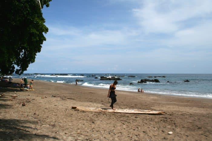 Isla del Caño beach