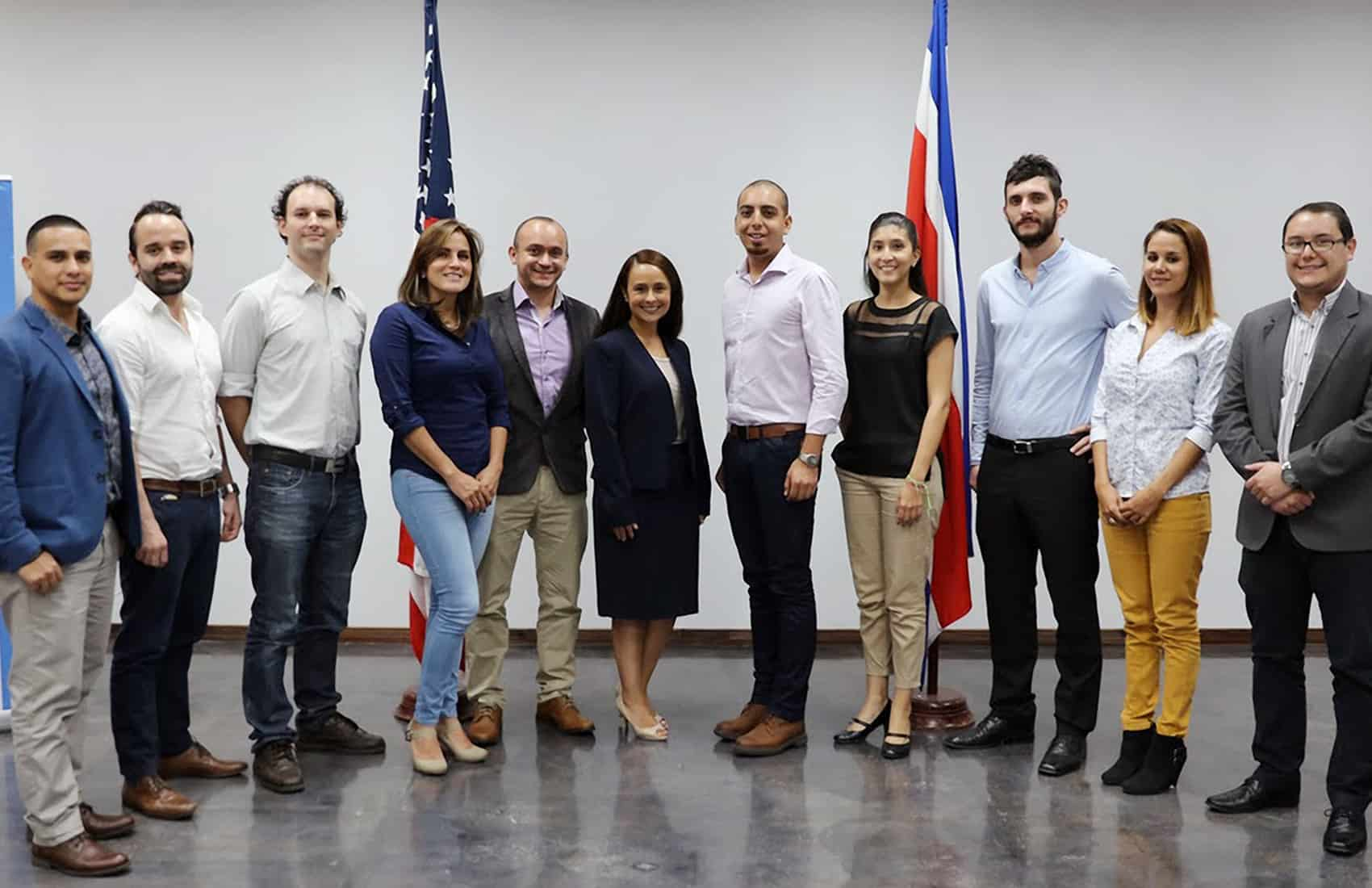 Costa Rica YLAI fellows 2016