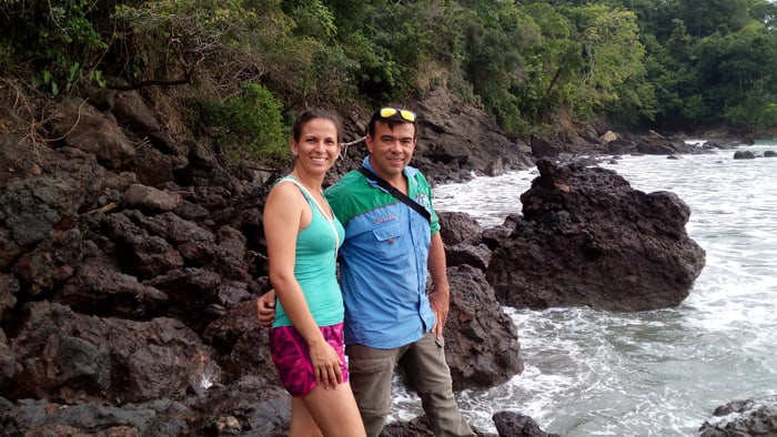 Mile and Maurilio, my intrepid guides.