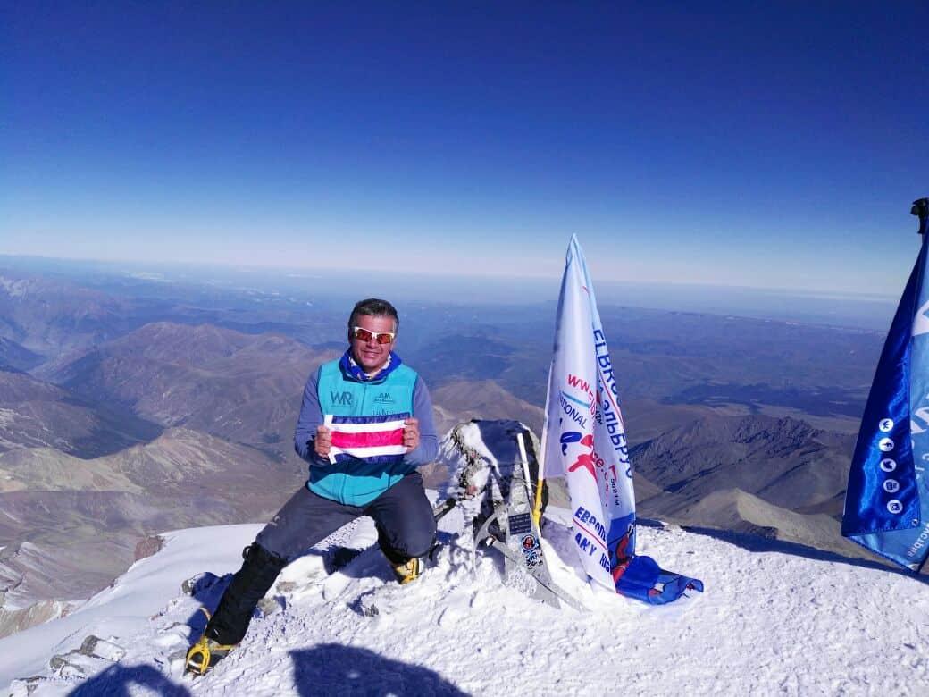 Warner Rojas Mount Elbrus