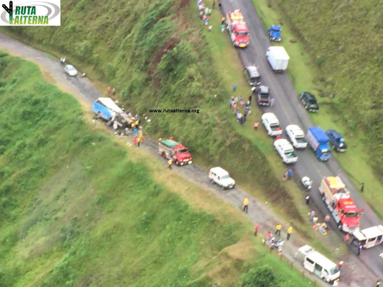 Costa Rica bus crash