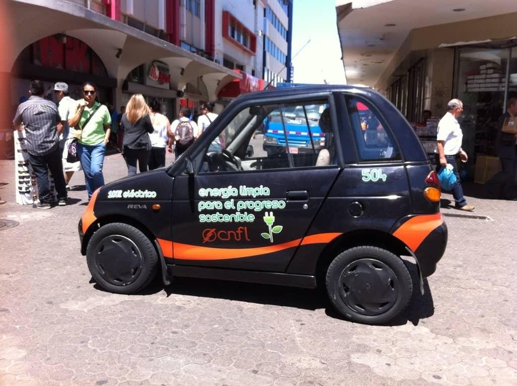 A 100% electric car.