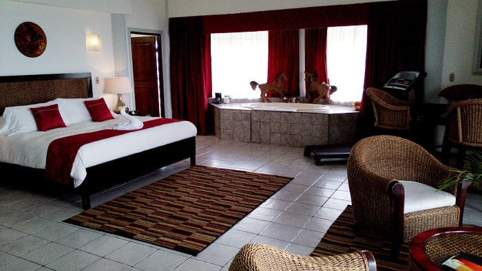 Presidential suite at La Mansion Inn.