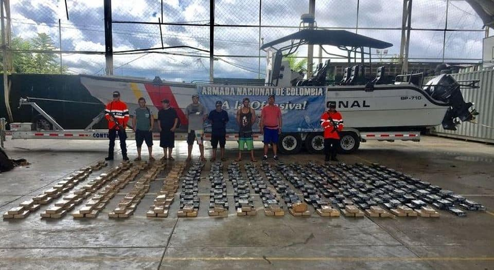 Colombia Costa Rica drug bust