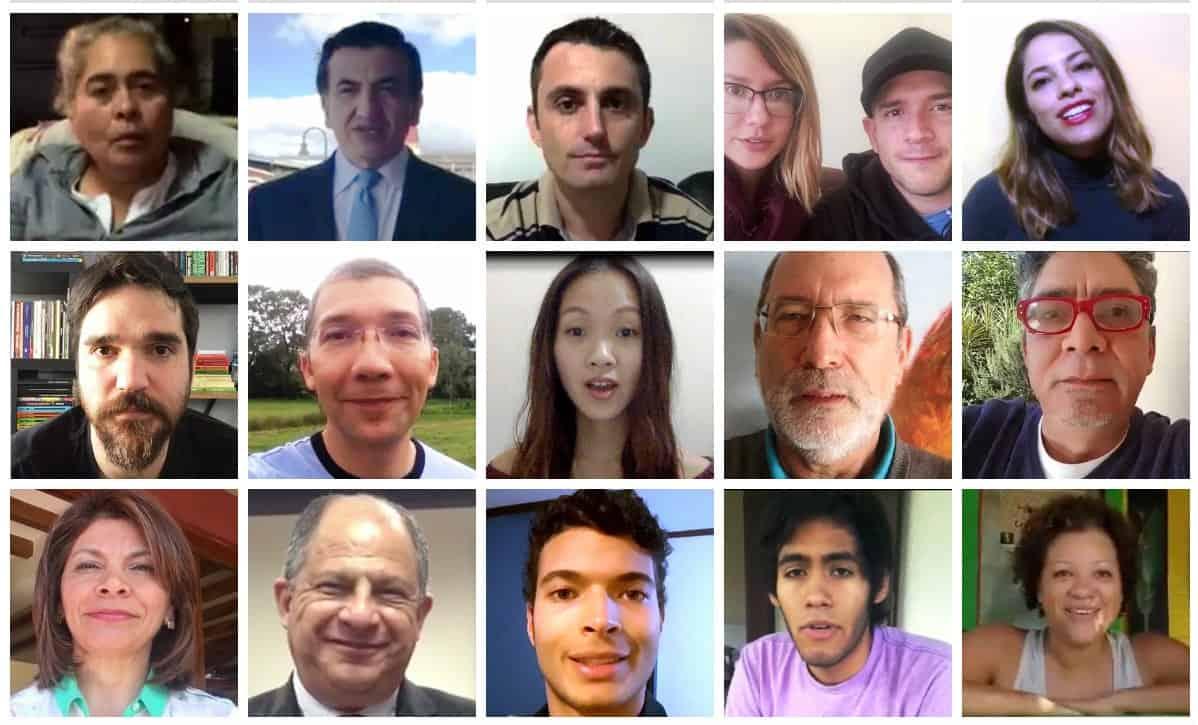 Entrevistados en nuestro reportaje sobre la migración