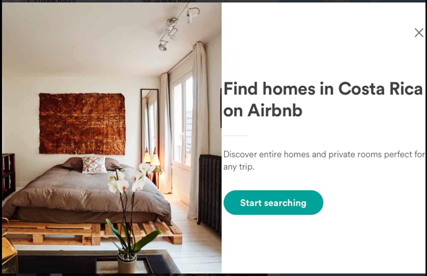 Airbnb website