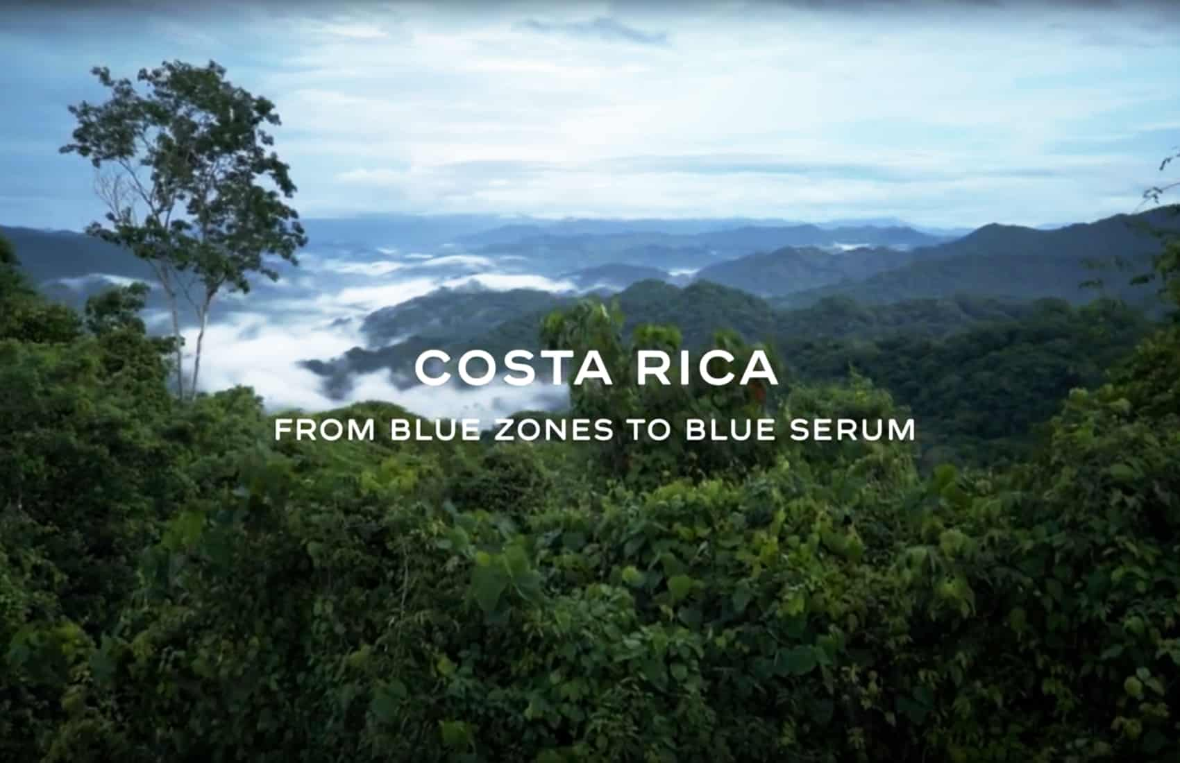 Chanel Blue Serum, Costa Rican coffee