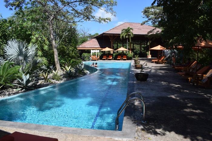 Pool at the Bodhi Tree.