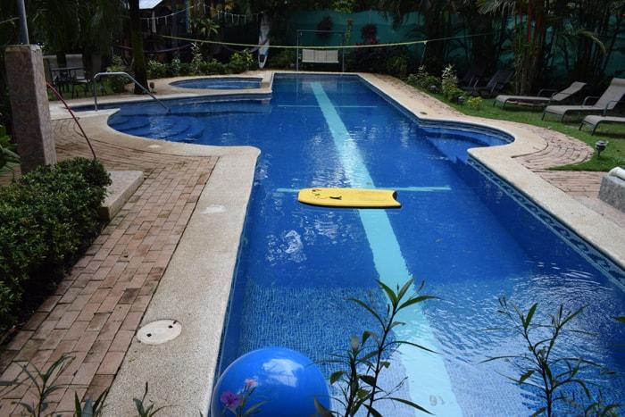 Swimming pool at Giardino Tropicale.