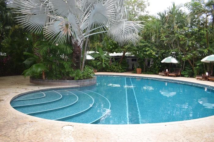 Pool at the Harmony.