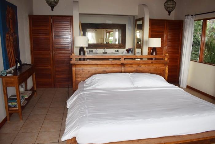 Master suite at Tierra Magnifica.