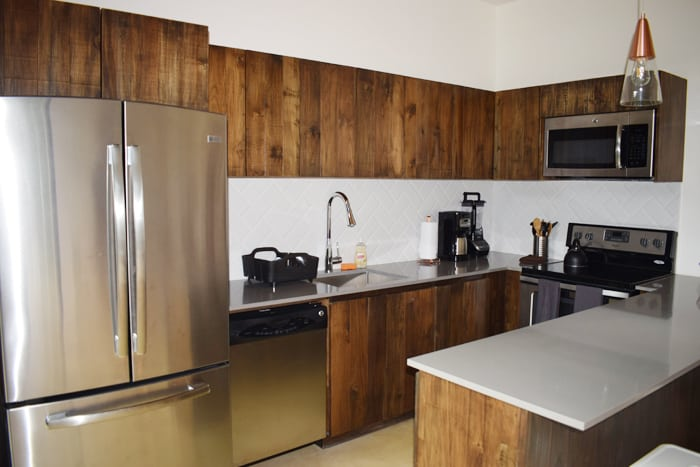 Kitchen at Nalu.