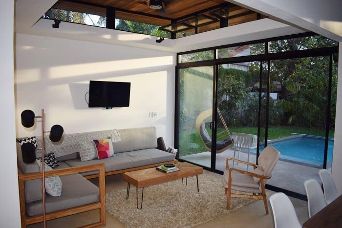 Living room at Nalu.