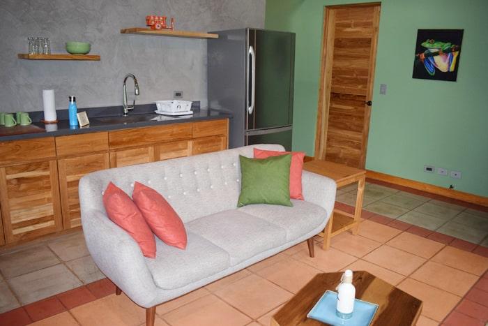 Living room at Olas Verdes.