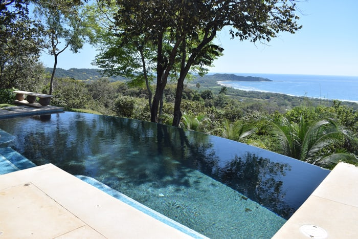 View from a home called Shangri La in Las Huacas, represented by Century 21, priced at $1.395 million.
