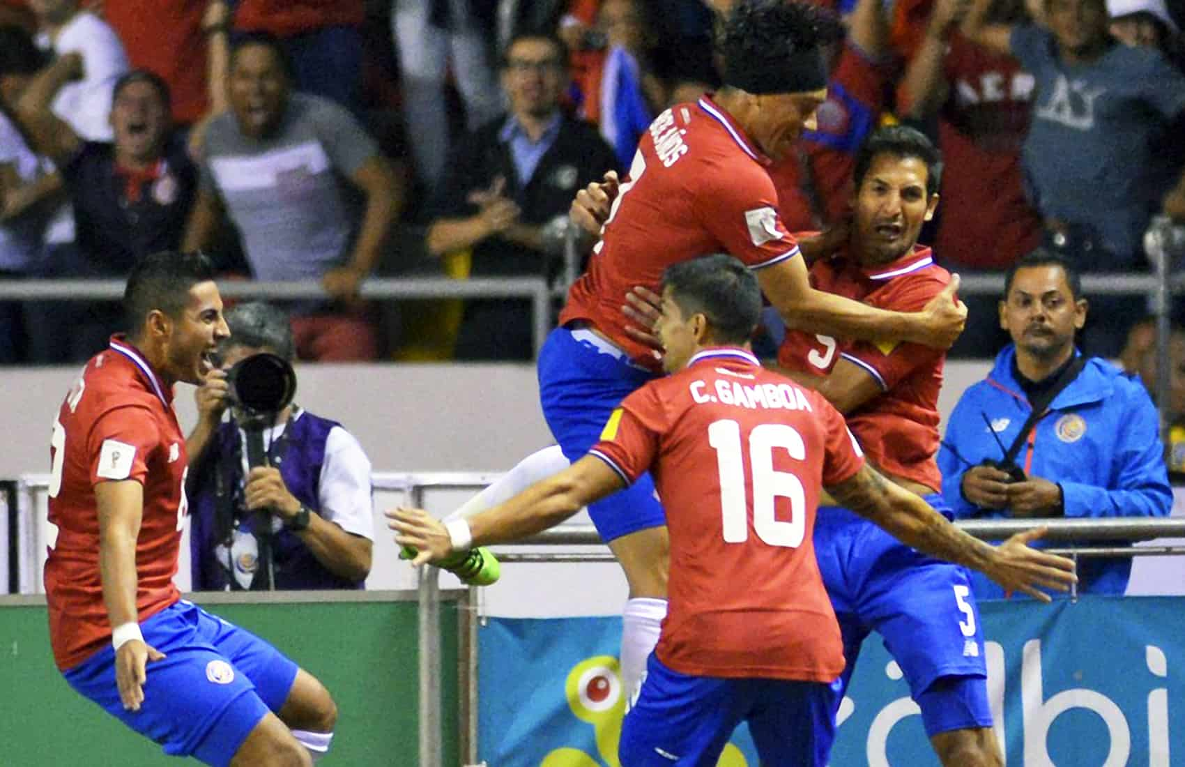 Costa Rica's National Football Team. La Sele