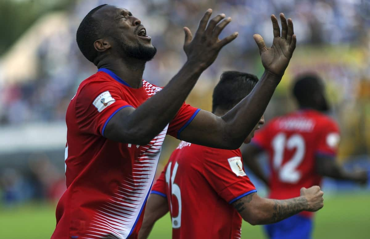 Costa Rican defender Kendall Waston