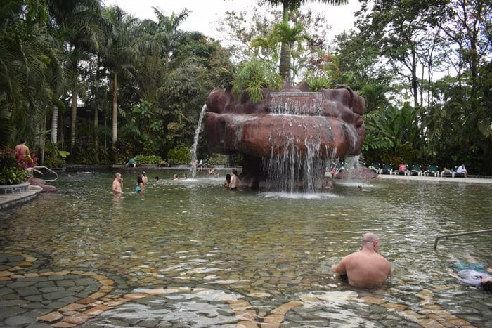 Big pool at Baldi.