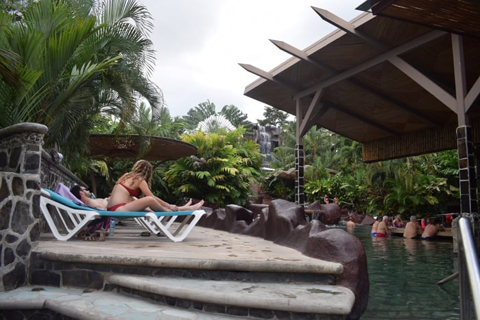 Pool people at Baldi. Note the popularity of the swim-up bar.