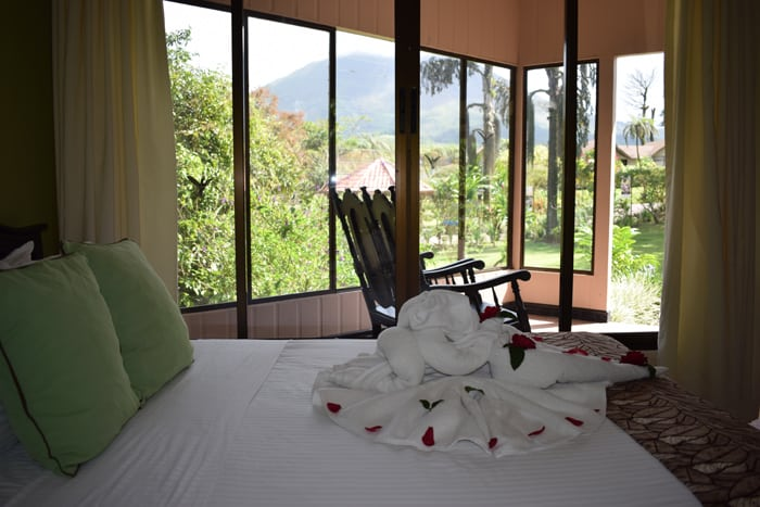 Tico towels, a rocking chair and a volcano, too.