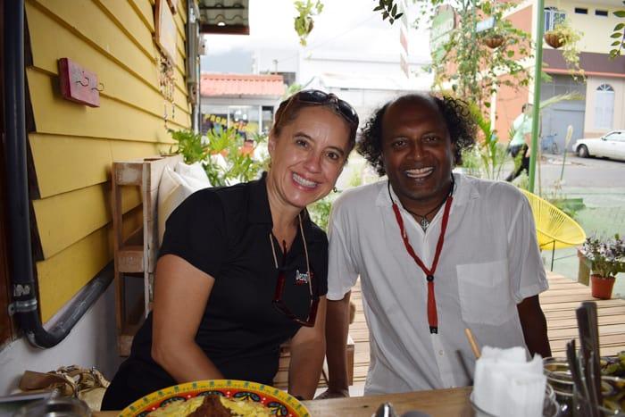 Christine and Suresh Krishnan of Desafío Adventures.