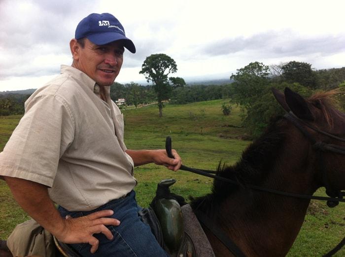Alex may not wear a cowboy hat, but he's 100% sabanero.