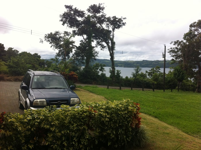 View from a home I once rented on the shore of Lake Arenal.