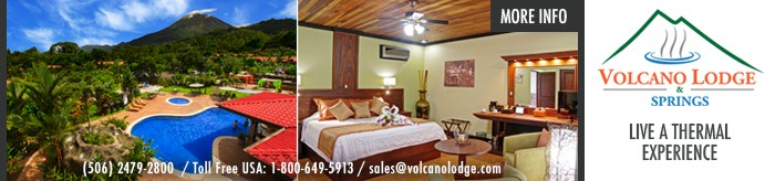 Volcano Lodge Banner