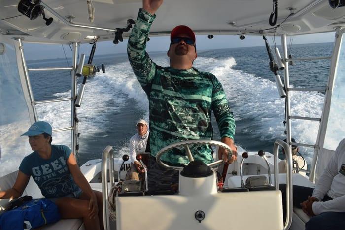 Captain Oscar Villalobos.