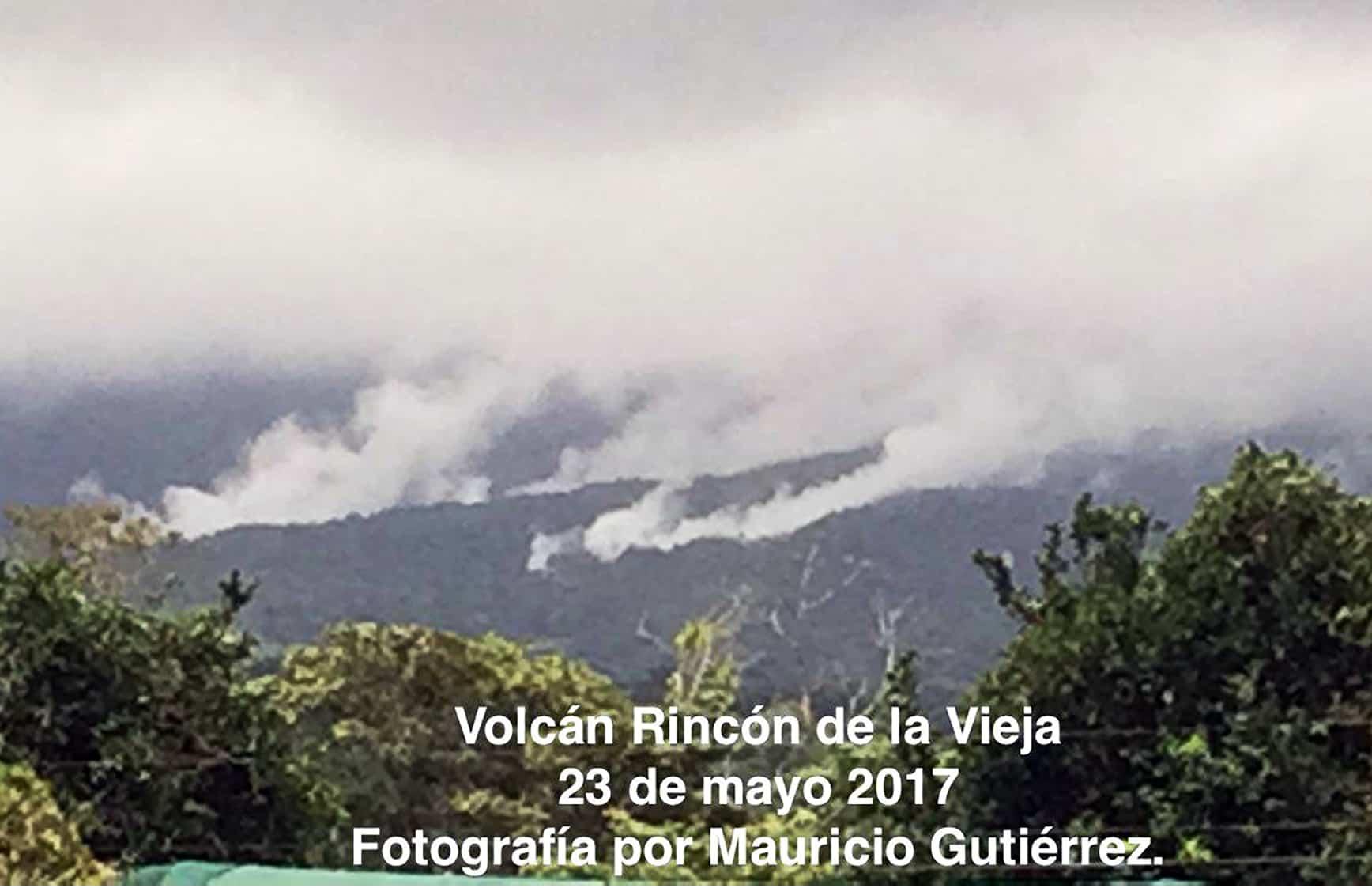 Rincón de la Vieja volcano. May 23, 2017.