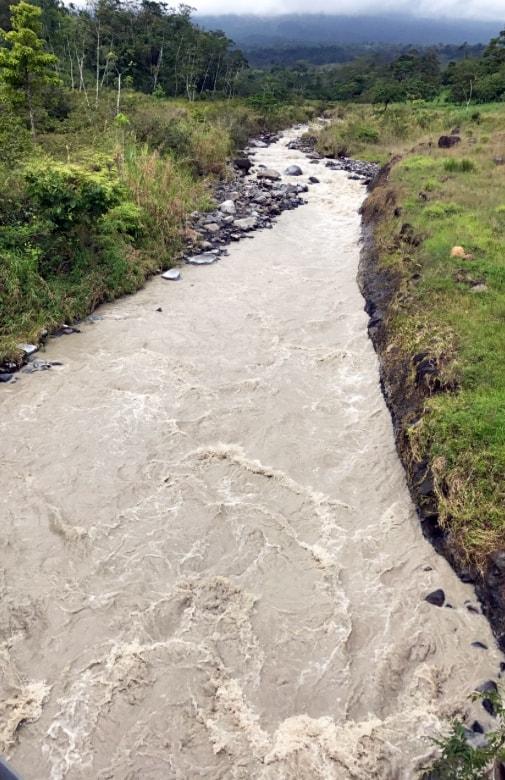 Penjamo river, Guanacaste.