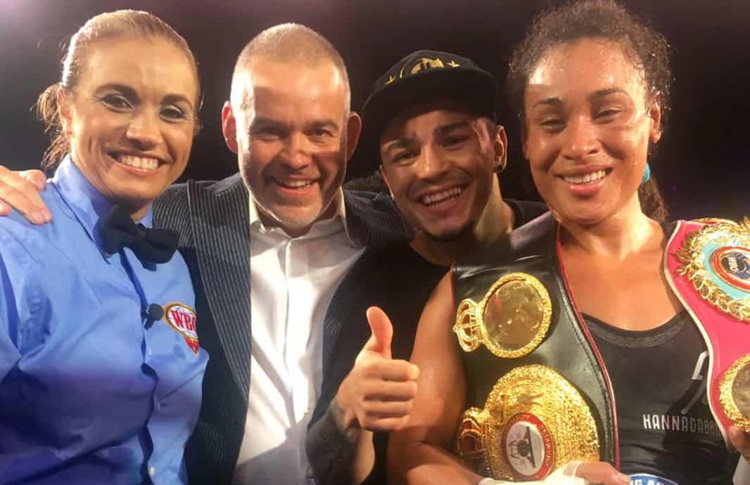 Hanna Gabriels fight. May 27, 2017.
