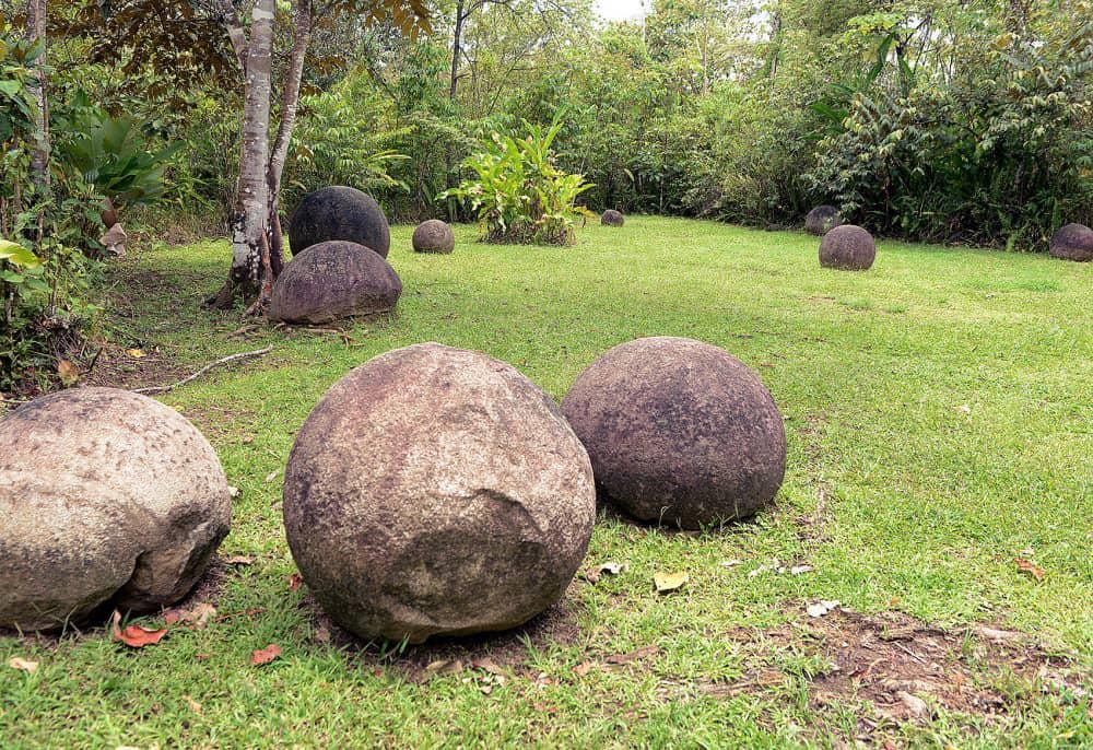 Diquís stone spheres, Costa Rica.
