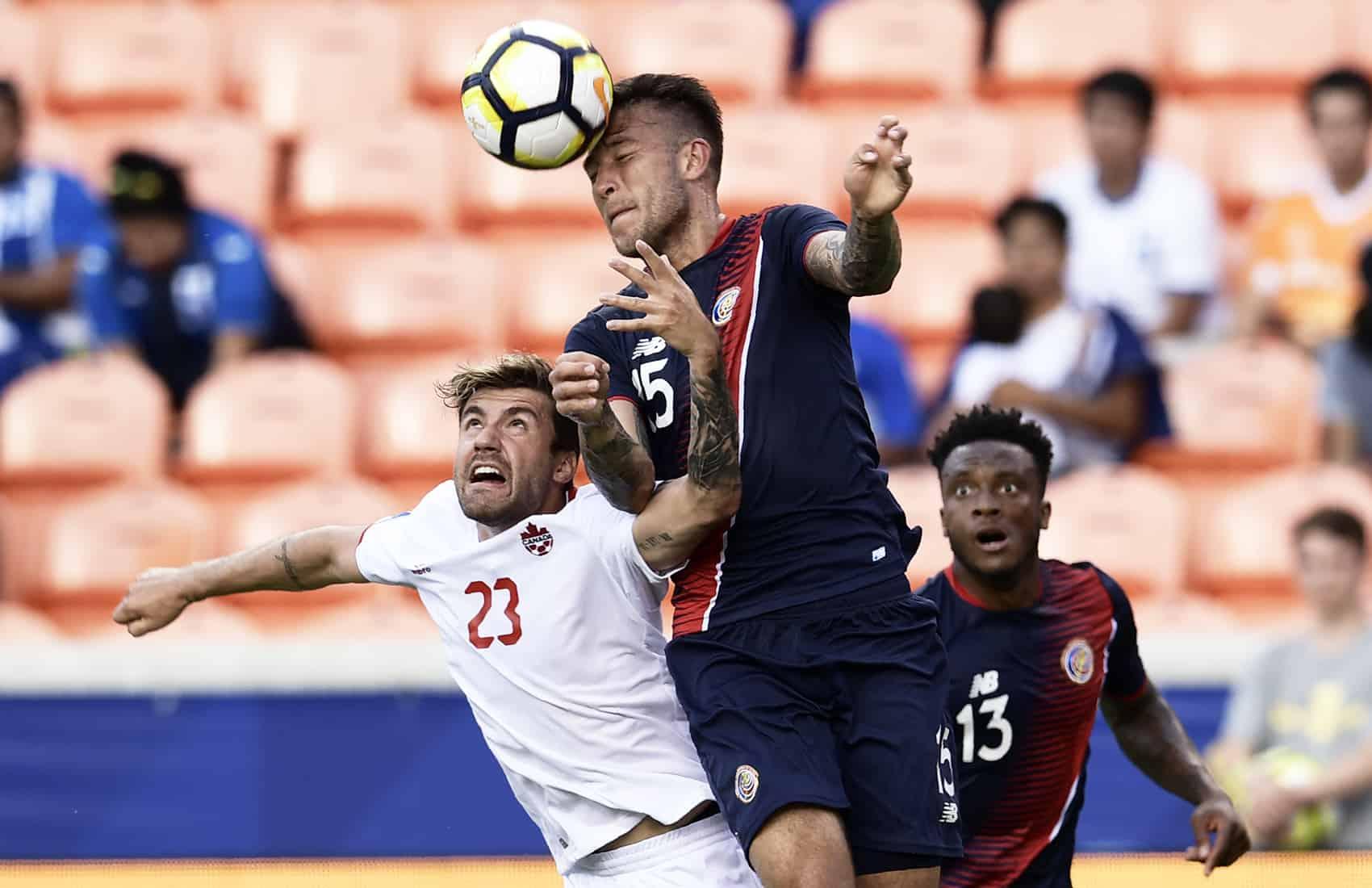 Costa Rica 1 - 1 Canada. 2017 CONCACAF Gold Cup. July 11, 2017. La Sele