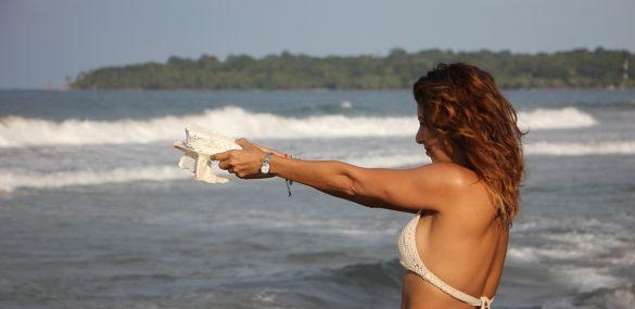 Costa Rican beach crusader Carolina Sevilla