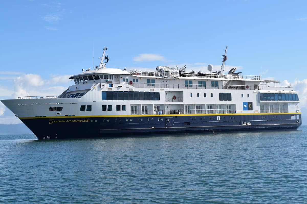 National Geographic-Lindblad Expeditions ship makes first