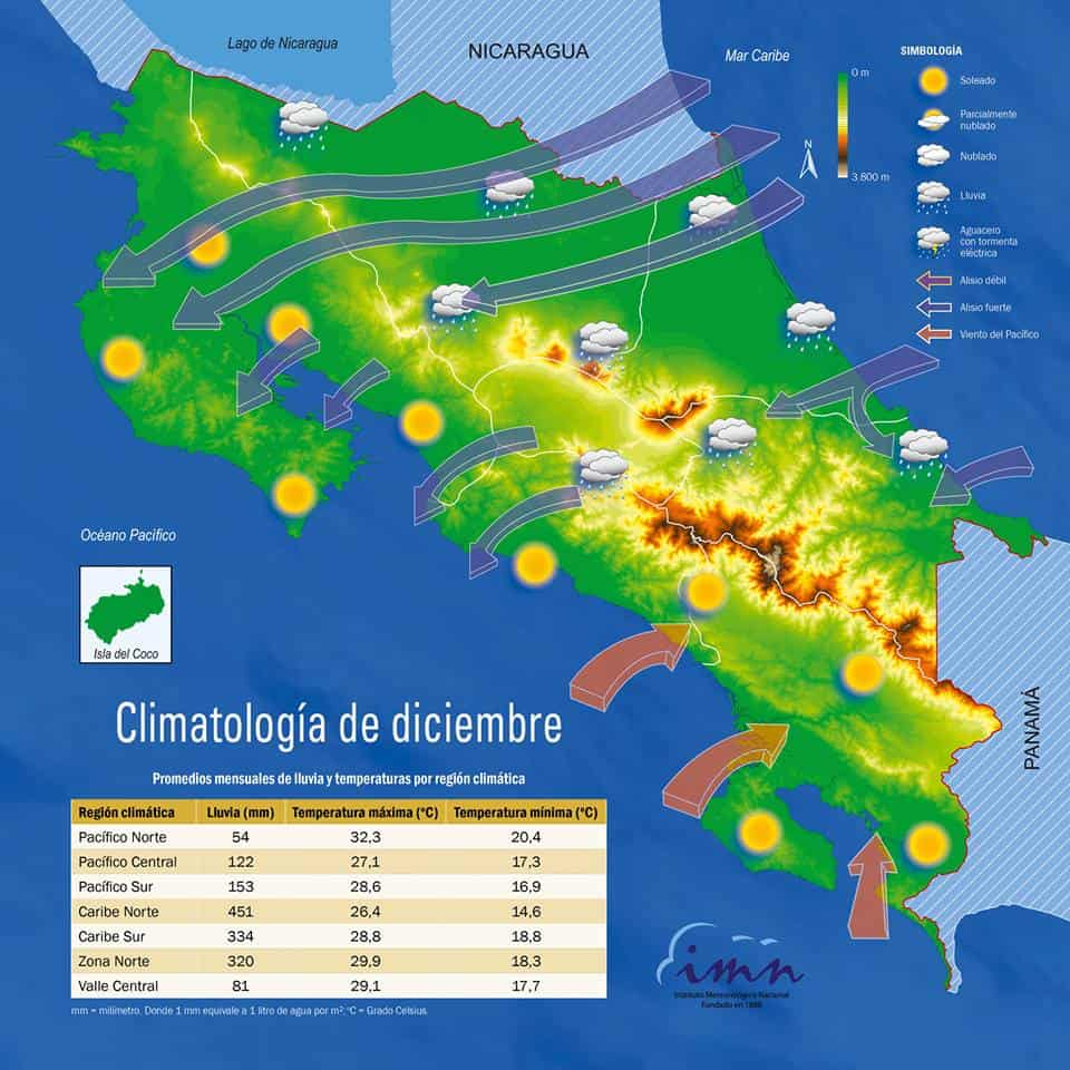 costa rica weather map Cold Front Claims Fourth Victim In Costa Rica The Tico Times costa rica weather map